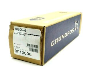 """NEW SEALED GRUNDFOS 10S05-6 PUMP END ONLY 4"""" MOTOR 9010006 10S056"""