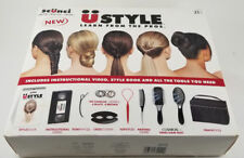 SCUNCI U STYLE HAIR STYLING SET BOOKLET & INSTRUCTIONAL VIDEO - COSMETOLOGY