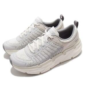 Skechers Max Cushioning Premier-Endeavour White Grey Men Running Shoe 220070-WGY