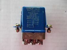 LEACH Relay 25 AMP, 3 PST, Coil / Contact 28 VDC, MS27418-2B, 9324-7424