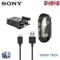 Genuine Refurbished Sony EP880 Mains Charger USB UK Plug + EC803 Micro USB Cable