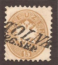 AUSTRIA / HUNGARY. 1863. TOLNA POSTMARK. USED.