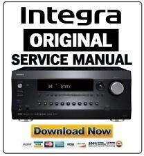 Integra DRX R1 AV Receiver Service Manual and Repair Guide