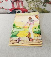 1974 ELTON JOHN Songbook GOODBYE YELLOW BRICK ROAD Piano Guitar Music Book