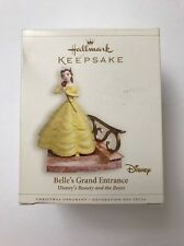 Hallmark 2006 Disney's Beauty and the Beast Ornament Belle's Grand Entrance Flaw