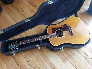 1987 Guild D-40 Acoustic Guitar D40 W/ OHSC