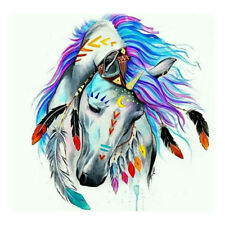 DIY 5D Diamond Embroidery Painting Cross Stitch Indian style horse home decor