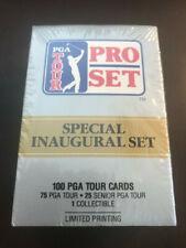 "Pro Set PGA tour cards ""Special Inaugural Set"" Sealed"