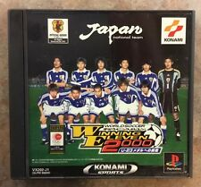 WORLD SOCCER JIKKYOU WINNING ELEVEN 2000 Japanese PS 1 USA SELLER