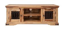 Jali Solid Sheesham Indian Rosewood 2 Door Large TV Cabinet Fully Assembled