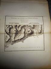 8 - CARTE MAP PLANS Campagne ITALIE 1745 & 1746 Camp ST REMO TAGIA TAGLIA 1775