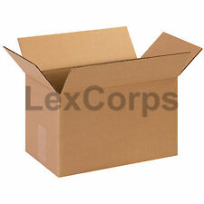 25 Qty 13x8x8 SHIPPING BOXES LC Mailing Moving Cardboard Storage Packing