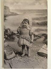 Vintage Postcard - RP Anonymous People - Child #3 Raphael Tucks #6540