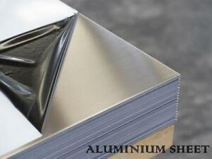 "ALUMINIUM SHEET PLATE 1mm - 3mm THICK "" FREE BESPOKE CUTTING """
