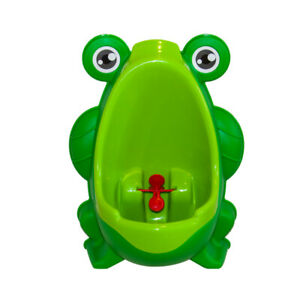 NEW Potty Training Urinal For Toddler Baby Boys Frog Pee Training Funny Trainer