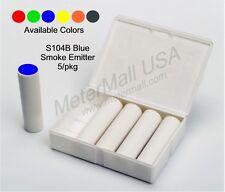 S104B Regin Colored Smoke Emitter, 5-pack, 3 min, 1200 cu ft,   BLUE