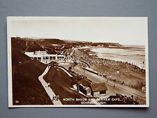 R&L Postcard: North Sands and Corner Cafe Scarborough