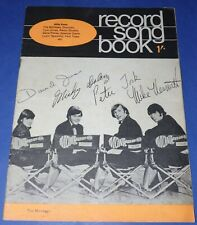 RECORD SONGBOOK Magazine * 1960s * The Monkees  Cover *