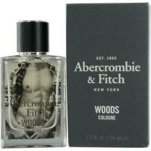 Abercrombie & Fitch Woods Cologne Spray Men1.7 oz / 50ml -- NEW IN SEALED