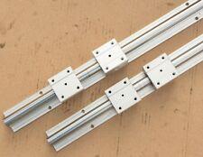 6pcs SBR16-750/400/950mm fully supported linear rail shaft rod+12pcs SBR16UU