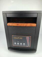 EdenPURE GEN3 1500w Quartz Infrared Portable Space Heater A3705 With Wheels