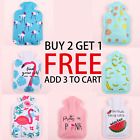 Hot Water Bottle Warmer Cartoon PVC Bag Relaxing Heat Cold Therapy Mini Portable