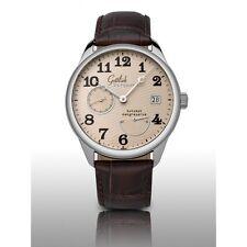 Original Gottlieb Bergmann Gangreserve kleine Sekunde Herren Automatik Uhr