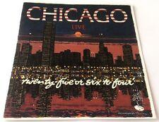 CHICAGO Live CD Toronto Rock & Roll Revival 1969 7trks (48:31) '94 UK-pressing