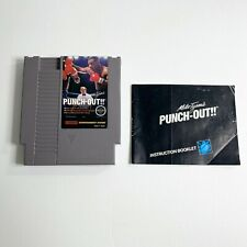 Mike Tyson's Punch Out Nintendo NES Game with Manual