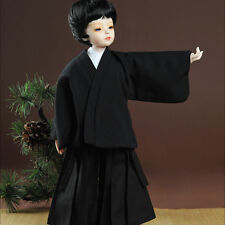 Dollmore New Narsha Size - Ttagikan Kimono Set (Black)