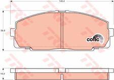 Bremsbelagsatz Scheibenbremse TRW GDB770 vorne für TOYOTA HIACE 4 Bus DYNA 2 3 5