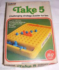 Vintage 1977 Take 5 Strategy Puzzler Game by Gabriel (b)