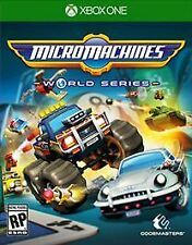 Micro Machines World Series (Microsoft Xbox One, 2017) - Brand New Sealed