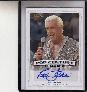 "2014 LEAF POP CENTURY RIC FLAIR ""NWA/WCW/WWE WRESTLING LEGEND"" AUTO AUTOGRAPH"