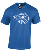NORTH NORFOLK DIGITAL MENS T SHIRT FUNNY ALAN PARTRIDGE DESIGN JOKE GIFT IDEA