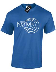 NORTH NORFOLK DIGITAL MENS T SHIRT FUNNY ALAN PARTRIDGE DESIGN JOKE GIFT IDEA