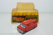 DINKY TOYS 410 BEDFORD ROYAL MAIL VAN NEAR MINT BOXED RARE SELTEN