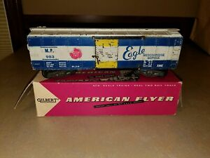 American Flyer 983 Missouri Pacific Eagle Boxcar w/original Red Box #24032