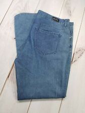 "MICHAEL KORS PLUS Skinny Jeans Size 40/32 Inseam 31"" Med Wash Denim"