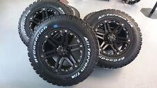 Tuff T01 9x18 6x139,7 Felgen + Reifen BF Goodrich T/A 265/65/18 für Ford Ranger