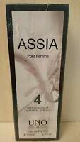 Assia UNO COLLECTION 100 ml Eau de Parfum Pour Femme Spray Woman EDP VINTAGE
