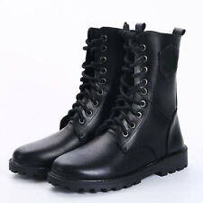 Men Kids Army SWAT Camo Tactical Boot Boys Military Outdoor Leather Shoes trains