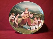 """Do-Re-Mi"" Knowles 1854 Collectors Hand-Painted Plate"