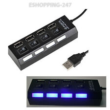 2.0 USB Powered 4 Ports Switch HUB Adapter For Desktop  PC Laptop  Compatible