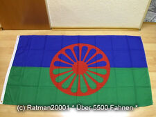Fahnen Flagge Sinti und Roma - 90 x 150 cm