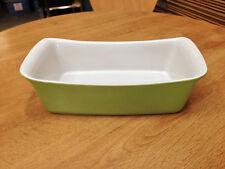 """Lime-green Ceramic Deli Dish """"Festival"""" 27.5 x 14.3 x 6.8 cm Deep (CE5129L)"""
