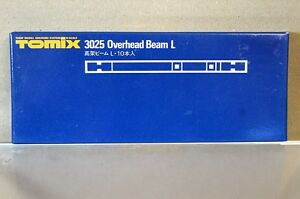 TOMIX 3025 OVERHEAD TRACK SUPPORT BEAM 170mm L Set of 10 NEW u