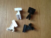Electric fence Post CORNER ADAPTORS pack of 4