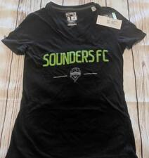 437e04a969d0 LZ ADIDAS Women s Small Seattle Sounders FC Socer T-Shirt Shirt Top Top NEW  T27