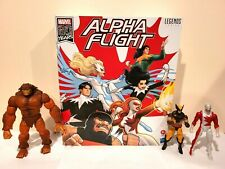 HASBRO MARVEL LEGENDS AMAZON EXCLUSIVE ALPHA FLIGHT BOX SET 80 YEARS ANNIVERSARY